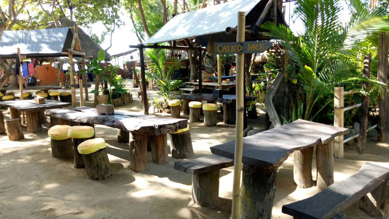The Pirates Bay Bali - Restaurant